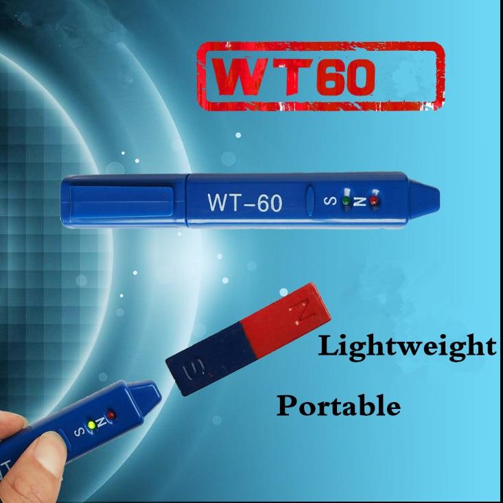 WT-60 Radiation Dosimeter Gauss Meter Magnetic Detection Pen WT60 Determination Magnets NS Class Measurement North South Detetor