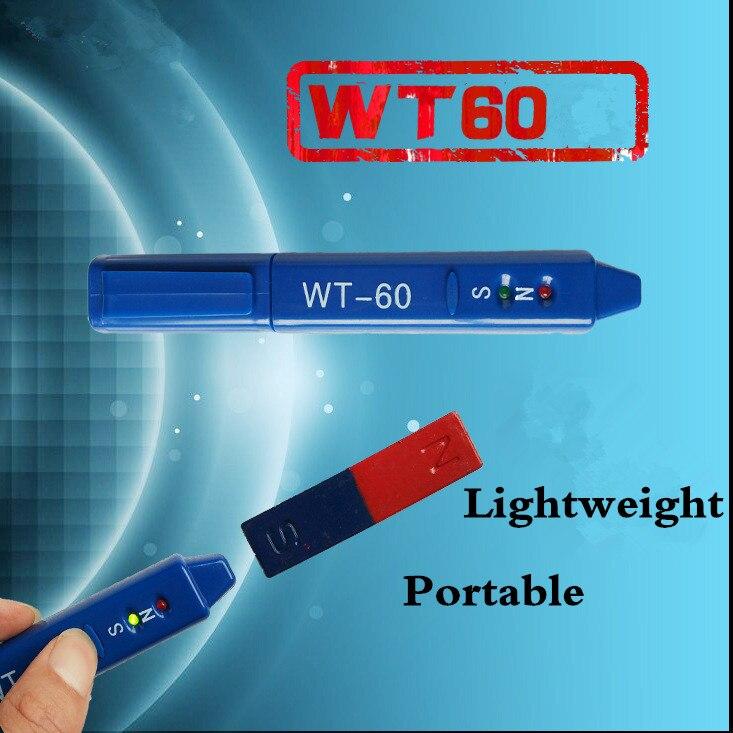 Medidor de Radiação Dosímetro Gauss Caneta Detecção Magnética Determinação Wt60 Ímãs ns Classe Medição Norte Sul Detetor Wt-60