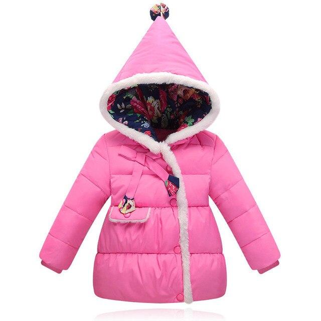 Manteau chaud petite fille
