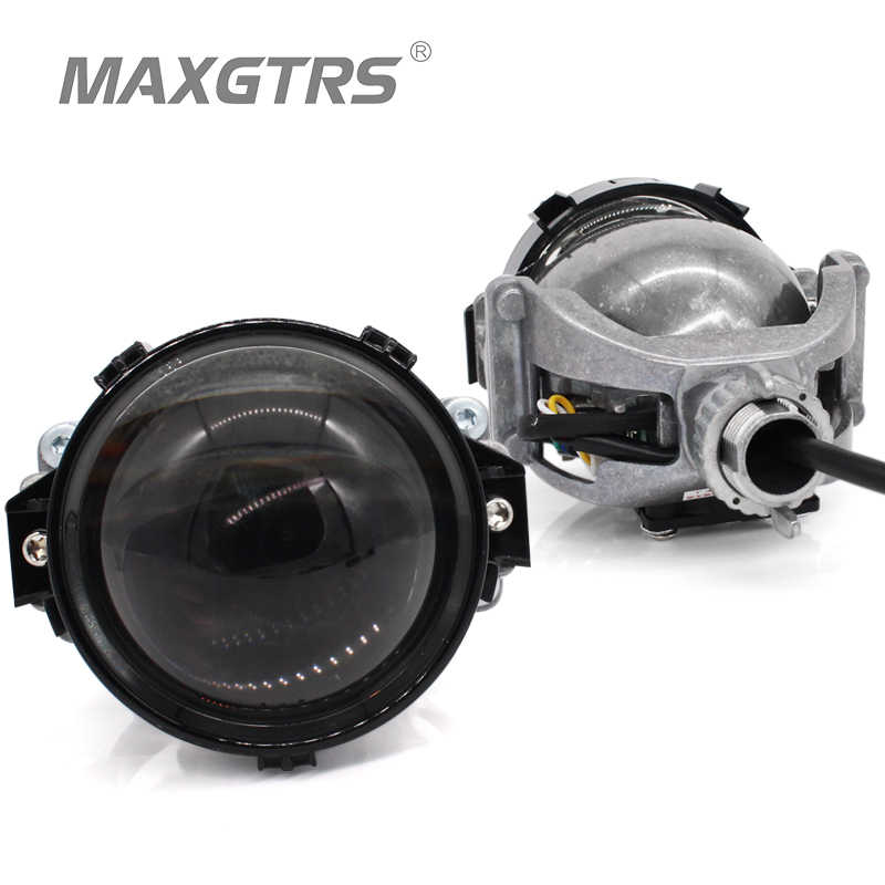 2019 MAXGTRS 3.0 inch Super Bright Auto Bi LED Projector Lens 6000K Car High Low Beam Bi-LED Lens Headlight With Excellent Beam