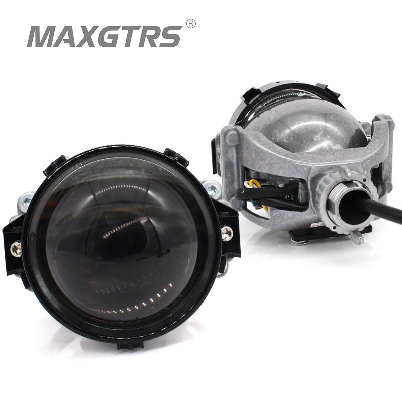 2017 MAXGTRS 3.0 inch Super Bright Auto Bi LED Projector Lens 6000K Car High Low Beam Bi-LED Lens Headlight With Excellent Beam yy 3 0 inch bi led projector lens headlight 35w 6000k hi lo beam auto lighting headlamp car styling car led headlight auto parts