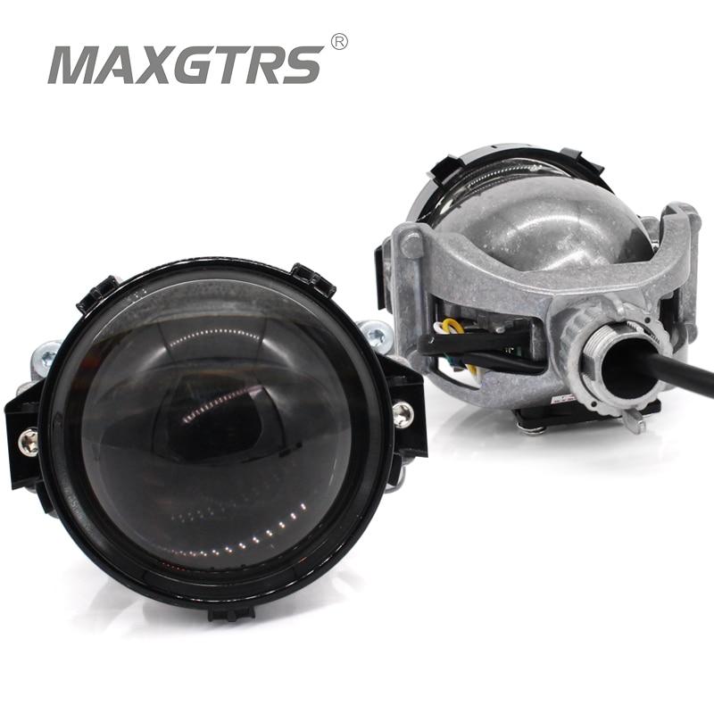 2019 MAXGTRS 3.0 pouce Super Lumineux Auto Bi LED Objectif Du Projecteur 6000 k Voiture Haut Bas Faisceau Bi-LED objectif Phare Avec Faisceau Excellent