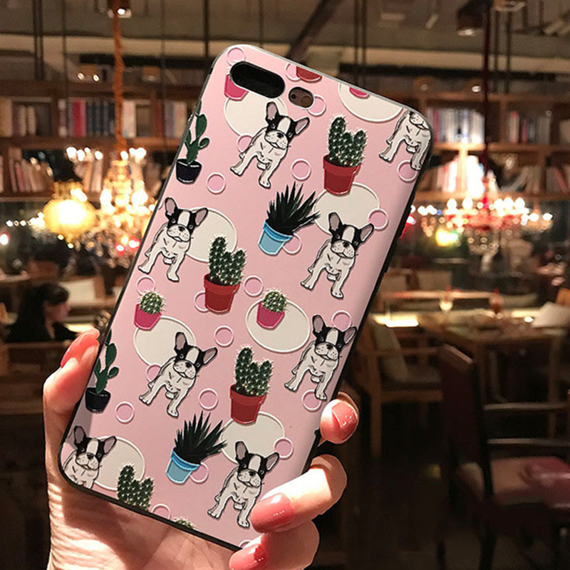 3D Embossed  Minnie Case For Huawei Mate 10 20 P10 P20 Lite Pro For Honor 8X 6A 9 10 Lite For iPhone XS Max X XR 6 7 8 Plus Case 1
