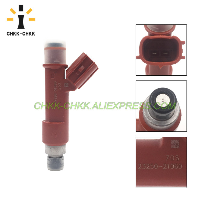 CHKK CHKK NEW Car Accessory 3250 21060 23209 21060 fuel injector for TOYOTA General YARIS NCP9 1 3 2NZFE 2005 2011 in Fuel Injector from Automobiles Motorcycles