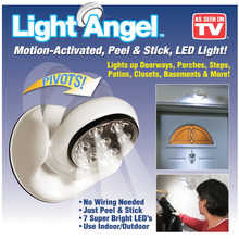 2015 New Arrival LED Light Angel Motion Activated Cordless Light Base Rotates 360 PIR Motion LED