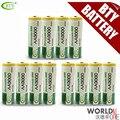 Original bty aa 3000 bateria 1.2 v recarregável ni-mh bateria seca para lanterna led/brinquedo/pda-b 12 pçs/lote