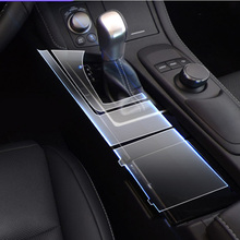 Car Sticker For Lexus transparent TPU Protective Film stickers for GS ES200t 300t 450t interior accessories