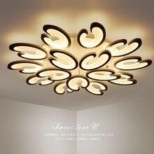 hot deal buy led living room ceiling lamps simple modern novelty ceiling lights creative bedroom fixtures dining room ceiling lighting