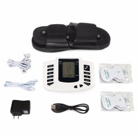 JR309 Health Care Electric Muscle Stimulator Massageador Pads Tens Acupuncture Therapy Machine Massager Slimming Body 6