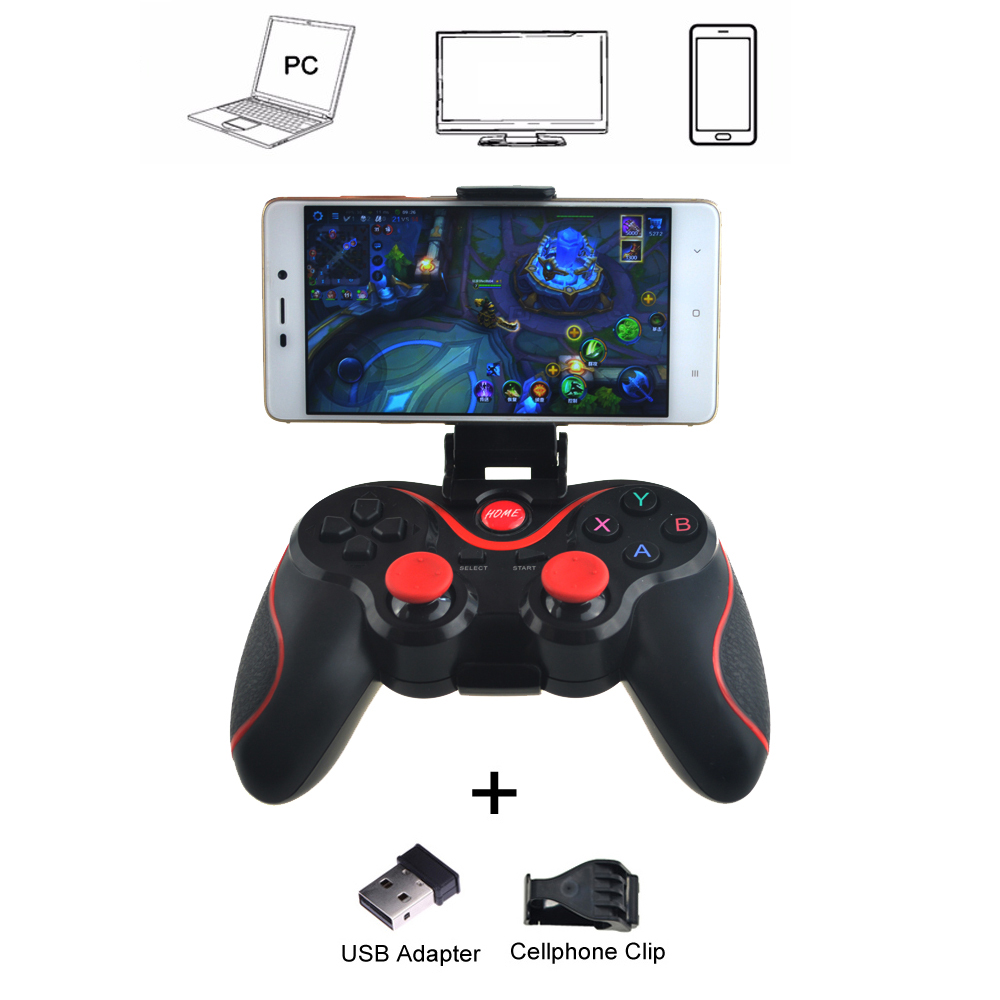 T3 Wireless Joystick Bluetooth 3.0 Gamepad Gaming Controller Gaming Remote Control for Tablet PC Android Smart phone