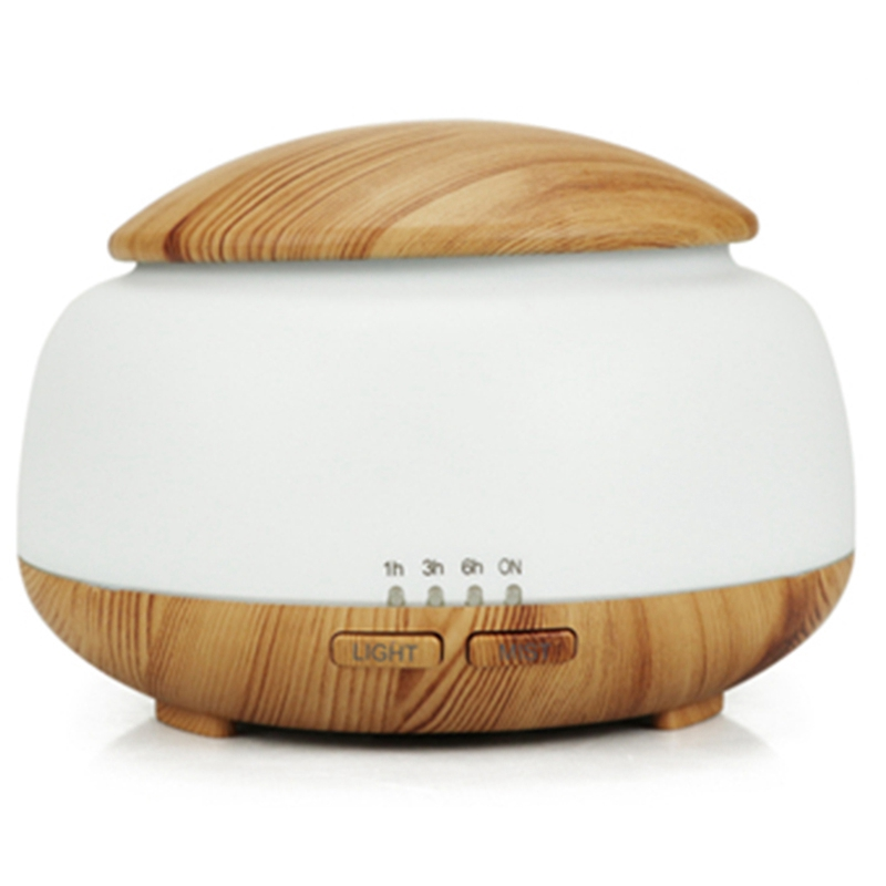 300Ml Air Humidifier Essential Oil Diffuser Led Aroma Diffuser Aromatherapy Quiet Living Room Office Humidifier With Uk Plug