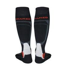 Мужчины зима теплый тепловой лыжные носки толстые хлопок Спорт сноуборд катание на лыжах Велоспорт Футбол носки Thermsocks гетры носок 2017