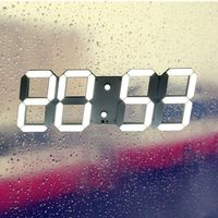 Large Modern Design Digital Led Wall Clock Watches 24 Or 12 Hour Display Vintage Clock For