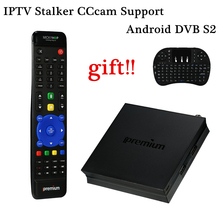 The Best and Cheapest iPremium I7 Stable Android DVB-S2 Satellite Receiver Receptor DVB S2 Smart TV Box IPTV CCcam Set Top Box