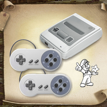 New Arrival Retro Mini Video Game Console Support AV TV Out Built-in 400 Classic Games for SNES Format