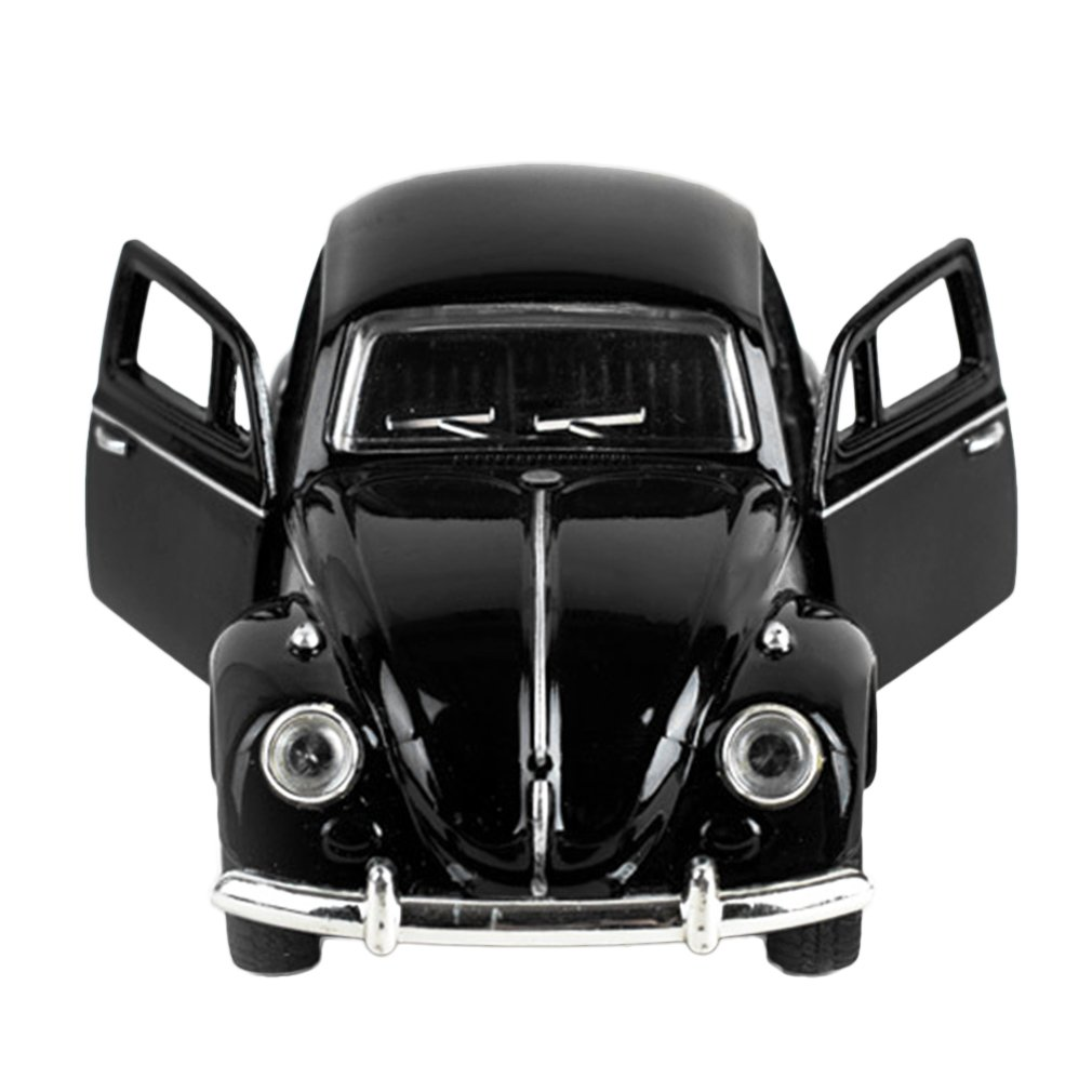 Hot Model Toy 1/32 Scale Vintage Convertible Pull Back Collection Model Cars Alloy Metal Kids Toy Car With Flashing and Musical