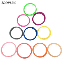 3DDPLUS 30M PLA 1.75mm 10 colors 3d pen filament threads 3d printing filament 3D wire rod pla plastic 3D linear Quality product