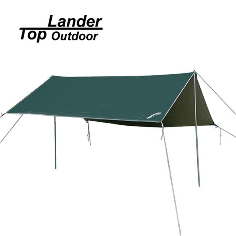 oxford acampar refugios carpas x m impermeable sol vela de la cortina anti uv lona refugio