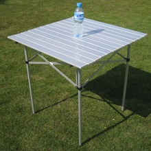 font b Camping b font folding picnic tables Aluminium Alloy desk portable for picnic