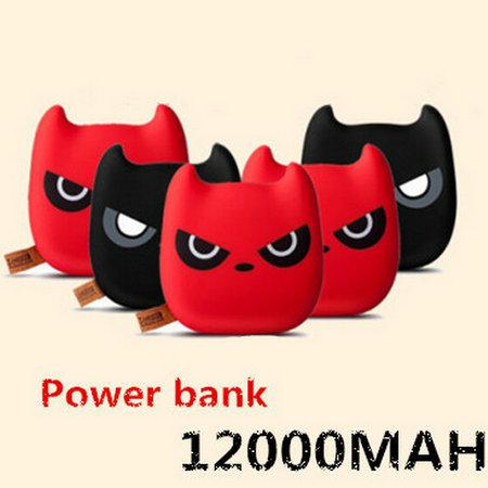 Universal 3D Lindo de Dibujos Animados Funny Cat Power Bank Cargador Portátil Móvil fuente de alimentación para iphone 5 6 5s samsung s5 s4 huawei htc