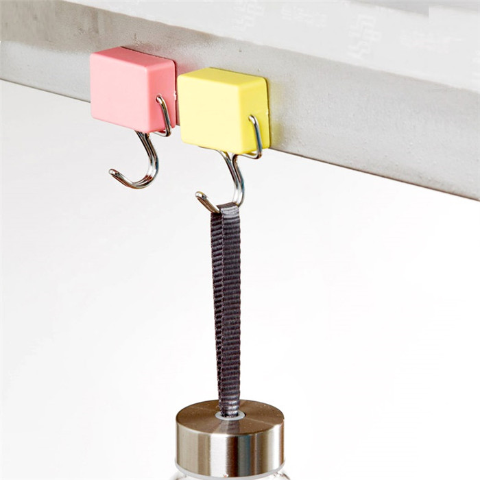 Magic Magnetic Hook Wall Mounted Metal Surface For Fridge