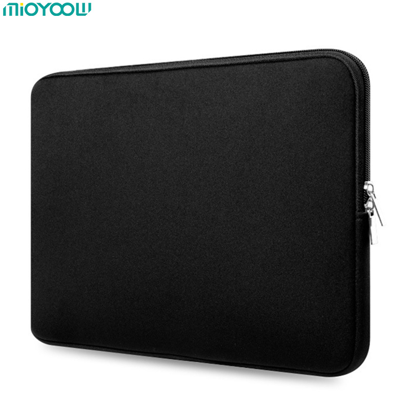 Soft Laptop Bag for MacBook Air Pro Retina 11 13 15 15.6 Inch Laptop Sleeve Case Women Men Protective Cover for Tablet Notebook new notebook case bag for macbook air 13 pro 15 case retina 13 3 15 4 cover women men laptop bag 13 15 inch with power bag