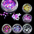 STZ New 1mm-3mm Mini Round Thin Nail Art Glitter Decoration Colorful DIY Glitter Paillette Design Nail Art Sequin Tips P15-21