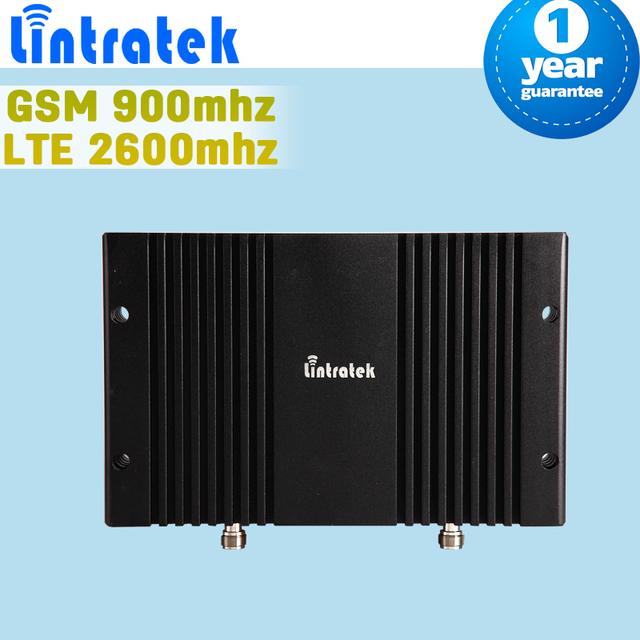 Display LCD GSM 900 4G LTE 2600 MHz 70dB Ganho MGC Controle Inteligente Móvel Reforço De Sinal de Celular Amplificador de Celular repetidor