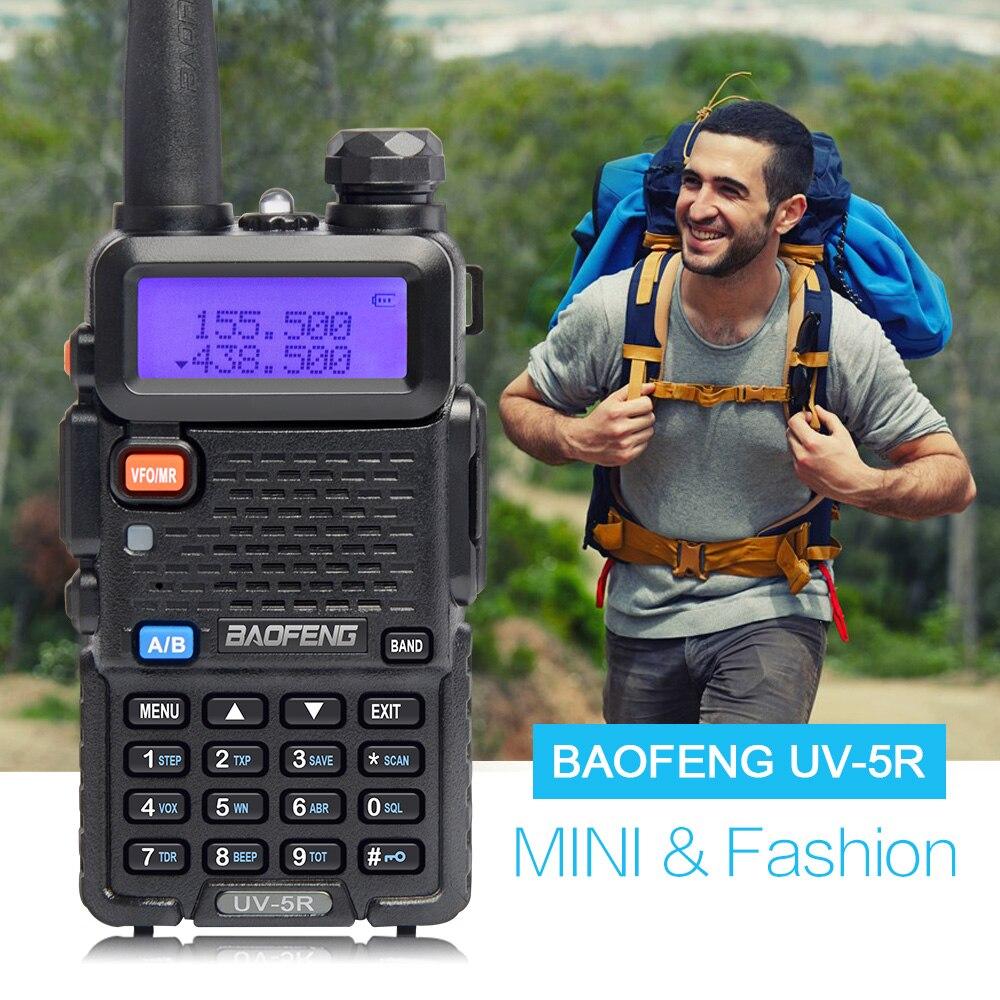 4 stücke BaoFeng UV-5R Walkie Talkie Dual Band Zweiwegradio Pofung uv-5r Tragbare Ham Radio Baofeng UV5R Handheld Toky Woky