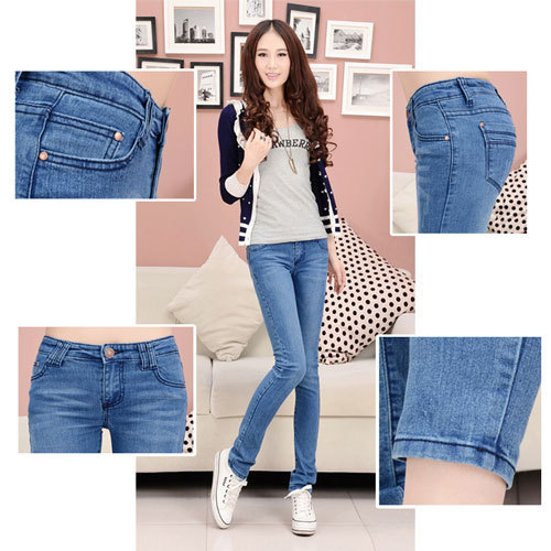 waist jeans high 2015 fashion jeans boyfriend vetement woman skinny xPYwwgnq1