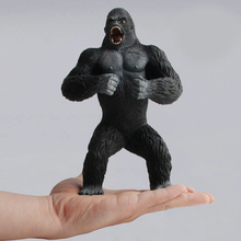 Action Toy Figures pet shop panda gorilla monkey rhino leopard crocodile kids toys play home Forest mini Model new products