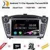 7 Quad Core 1024 600 Pure Android 6 0 2Din Car DVD For Hyunda IX35 Tucson