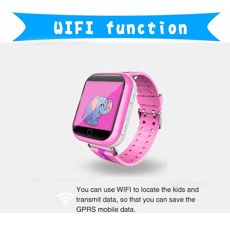 2017 Q100 Q750 GPS baby watch with Wifi 1.54 inch touch screen SOS Call Location Device Tracker for Kid Safe Anti-Lost Monitor wireless service call bell system popular in restaurant ce passed 433 92mhz full equipment watch pager 1 watch 7 call button