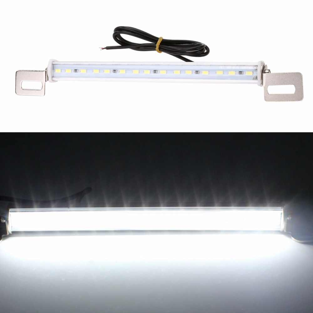Mobil License Plate Lampu Strip 15W SMD LED Backup/Mundur/Lampu Rem Bar Tahan Air Aluminium Auto Lampu -Emitting Diode Lampu