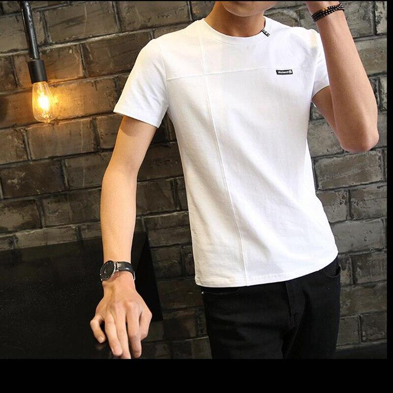 Neu kommen 2018 Männer Sommer kurzarm T-shirt Mode casual t-shirts für Männer mehr wahlen der farbe