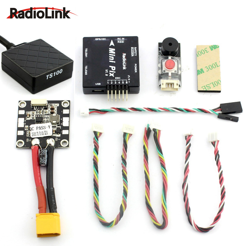 Radiolink MINI PIX Pixhawk basic configuration flight controller TS100 M8N 8N GPS Model for RC Racing