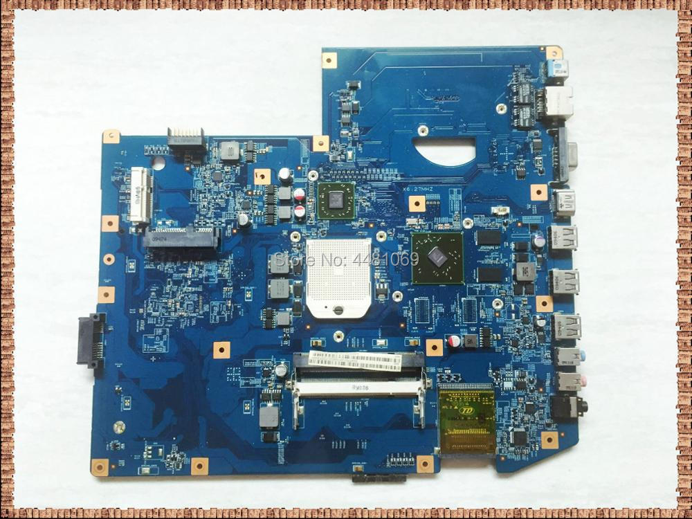 7540G-1088 For Acer Aspire 7540 Laptop Motherboard JV71-TR8 MB 48.4FP03.01M DDR2 MBPPQ01001 MB.PPQ01.001 Main Board Free Cpu