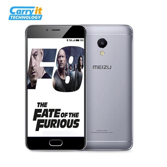 """На складе Meizu M5S 32 ГБ 3 ГБ мобильного телефона Android MTK окта- ядро 5.2 """"3000 мАч сотовых отпечатков пальцев Быстрая зарядка нескольких языков"""