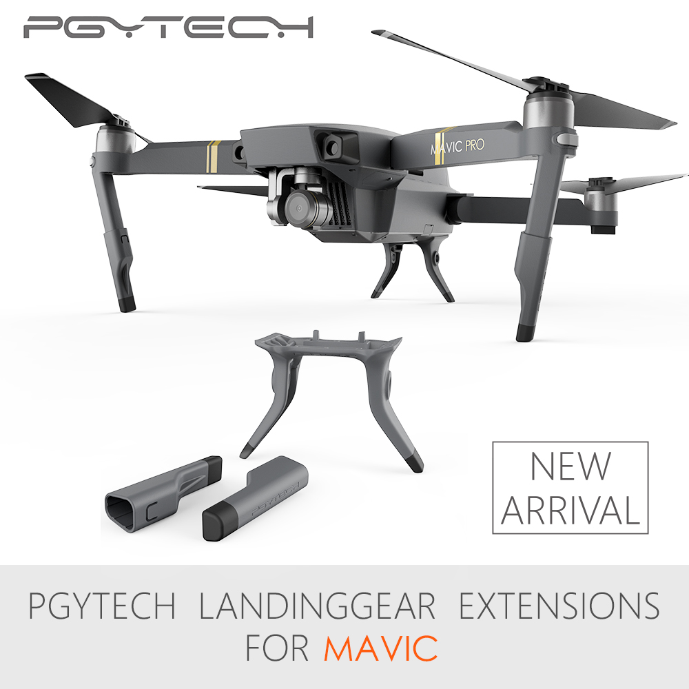 PGYTECH Extended Landing Gear Leg Support Protector Extension Replacement Fit For Mavic Pro font b drone