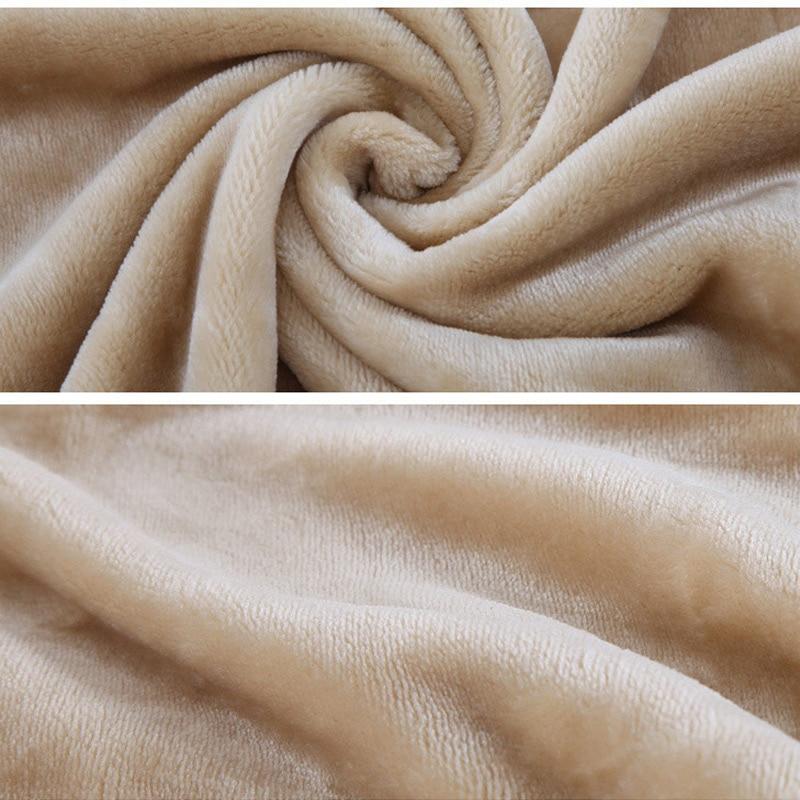 flannel fleece blanket solid soft adults baby blankets winter warm