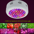 Full Spectrum 216W UFO LED Grow Light 85~265V Hydroponics Plant Lamp Ideal for All Phases of Plant Growth and Flowering