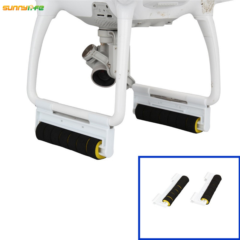 Amicable Sunnylife Dji Phantom 4 Drone Quadcopter Landing Gear Tripod Leg Elongate Heighten Extended Anti Shock Bracket Uav With Foam 2019 Latest Style Online Sale 50% Camera Drones Accessories