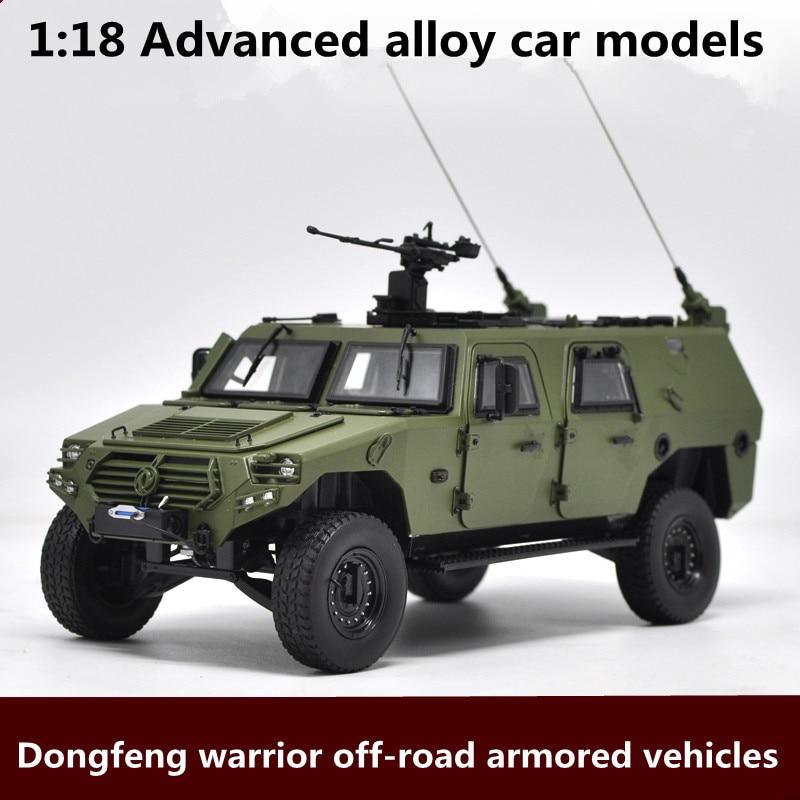 1:18 advanced сплава модели автомобилей, dongfeng воин внедорожных бронетехники модель, металл Diecasts, игрушка, бесплатная доставка