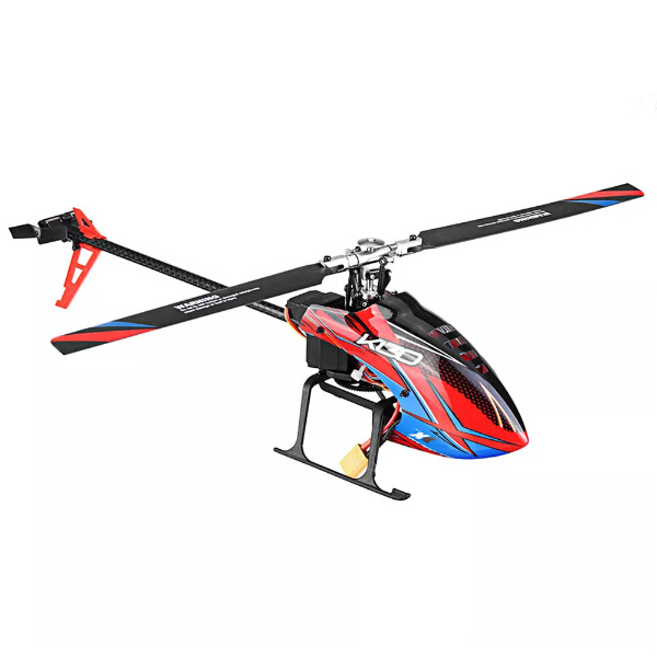 XK K130 2.4G 6CH Brushless 3D6G System Flybarless RC Helicopter 3-Axis Gyro BNF Compatible With FUTABA S - FHSS Helicopter ToyXK K130 2.4G 6CH Brushless 3D6G System Flybarless RC Helicopter 3-Axis Gyro BNF Compatible With FUTABA S - FHSS Helicopter Toy