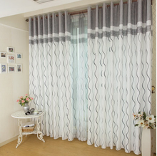 2016 Hot rose modern tulle for windows shade sheer curtains fabric for kitchen blinds living room the bedroom window treatments