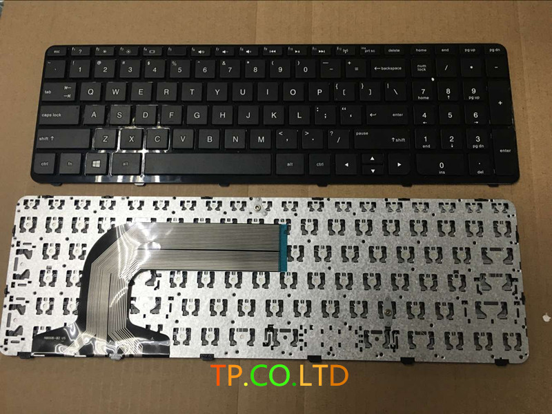 Wholesale HP US Black Keyboard for Pavilion 17-e020dx 17-e066nr