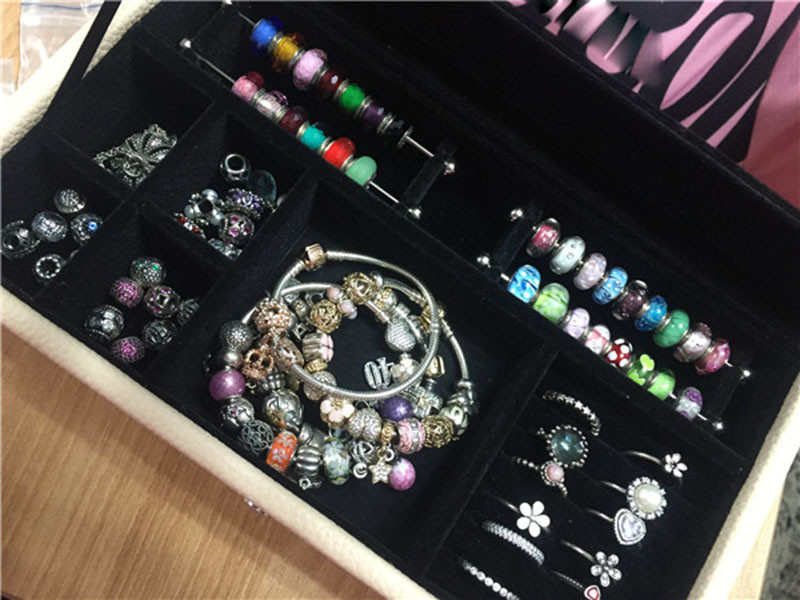 Cheap Pandora Beads Jewelry Box