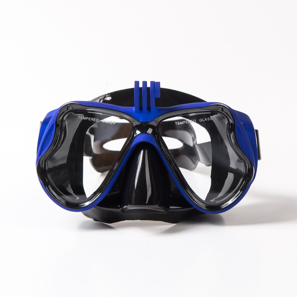 2019Prescription Diving Masks With Myopia Lens Underwater Camera Diopter Snorkeling Mask Corrective Scuba Mask For Sports Camera