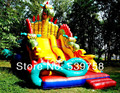 The latest inflatable slides, inflatable castles, Inflatable Bouncer, YLY-066
