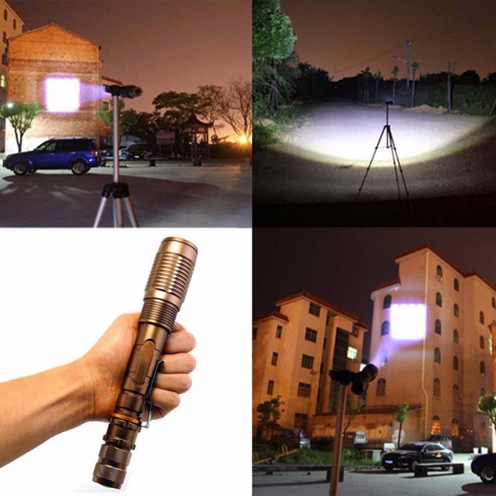 3000LM  XML-T6 LED Zoomable Flashlight Bicycle Torch Focus Light Bronze sitemap 25 xml